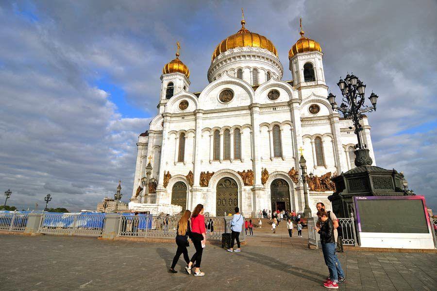 catedral del cristo salvador, visitas de moscu