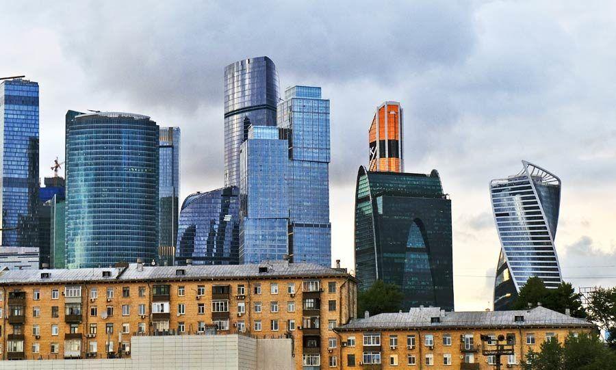 moscu, rascacielos presnensky