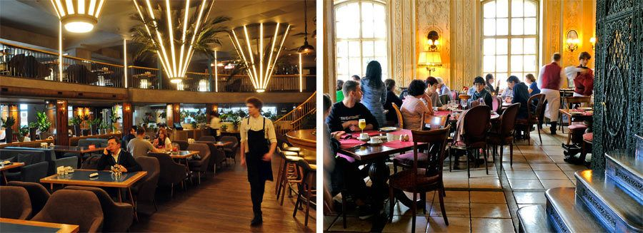 restaurantes baratos moscu, Restaurante Chaihona, Cafe Pushkin