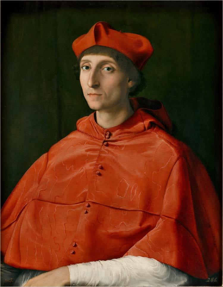 El Cardenal, pintor Rafael, obras museo del prado