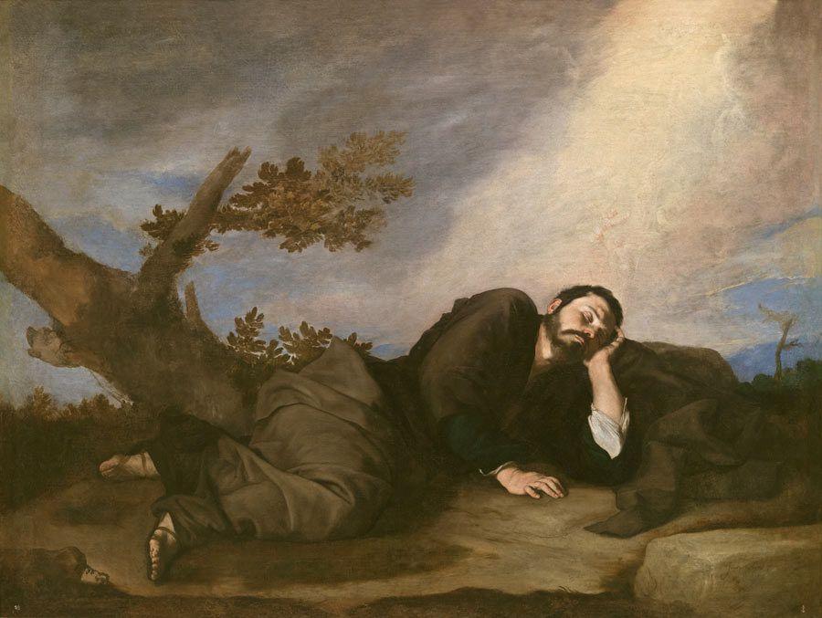 El sueno de jacob, pintor rivera, museo del prado