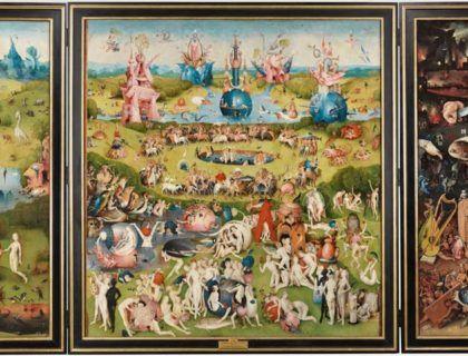 Tríptico del jardin de las delicias, El Bosco, obras basicas museo del prado