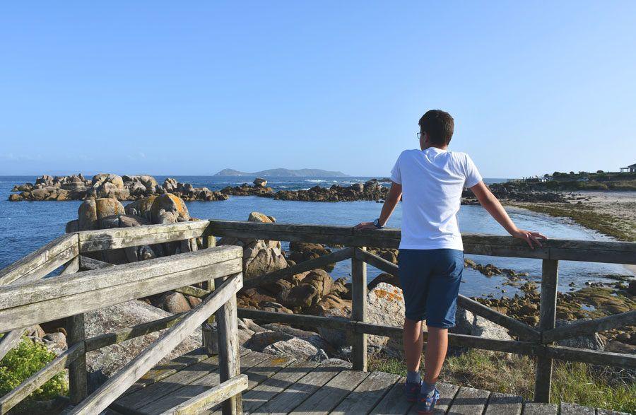 viajes en familia, viajes con niños, rutas en Galicia, actividades en Pontevedra