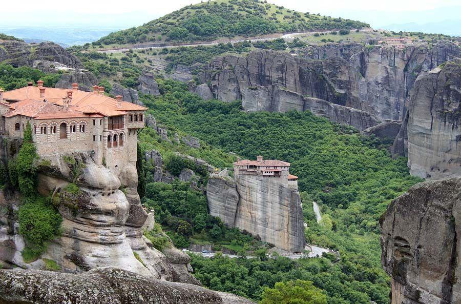 monasterio de varlaam, templos meteora, que ver en grecia