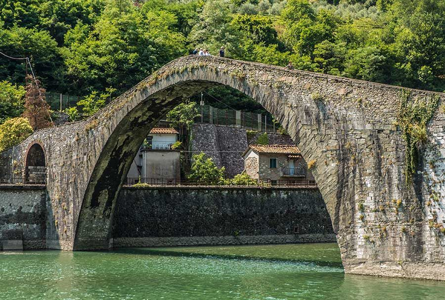 ponte madalena, puente magdalena, que ver en lucca