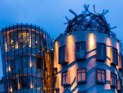 Dancing House, Tancici dum, Jiraskovo Street, Prague, Czech Republic, Europe
