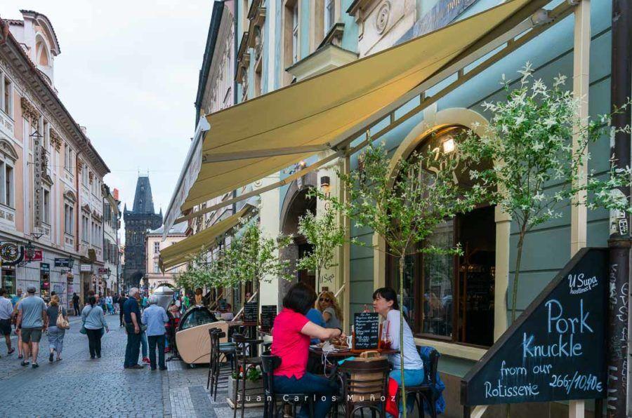 Karlova Street, Prague, Czech Republic, Europe