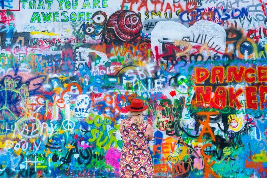 John Lennon Wall, Prague, Czech Republic, Europe