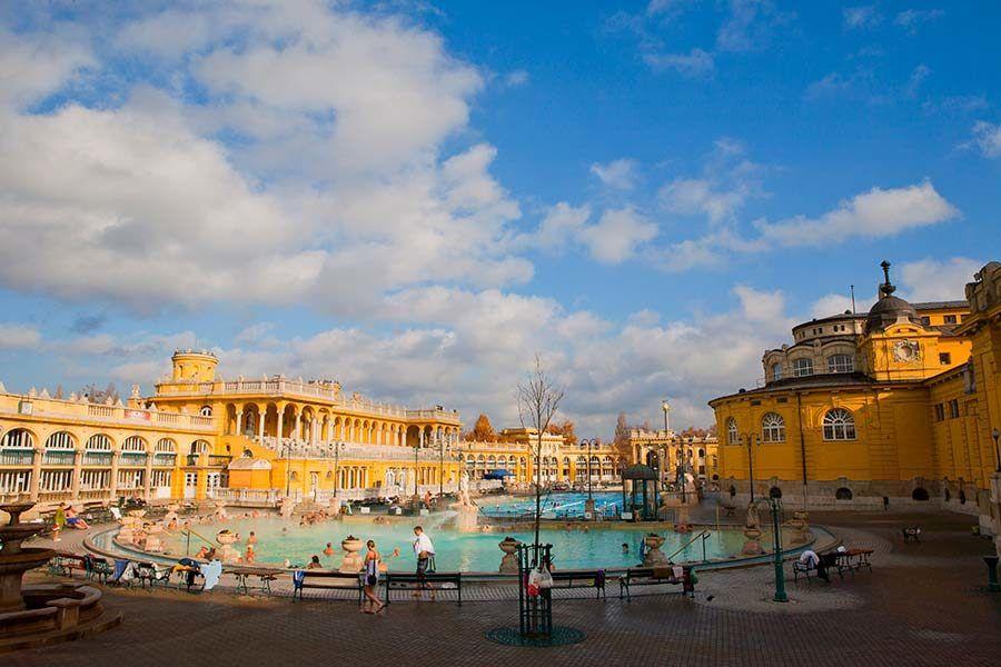 Balneario Szechenyi, viajes budapest amigas