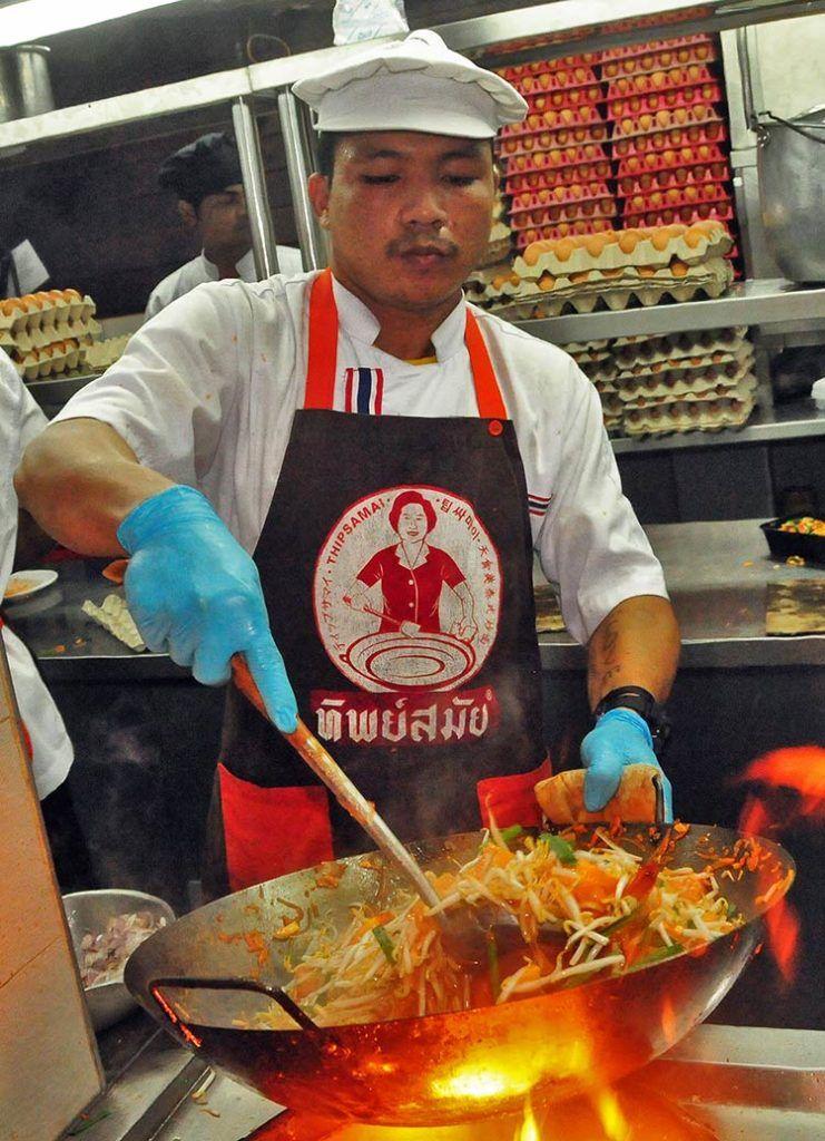 Thipsamai, mejor Pad Thai del mundo, comer bangkok
