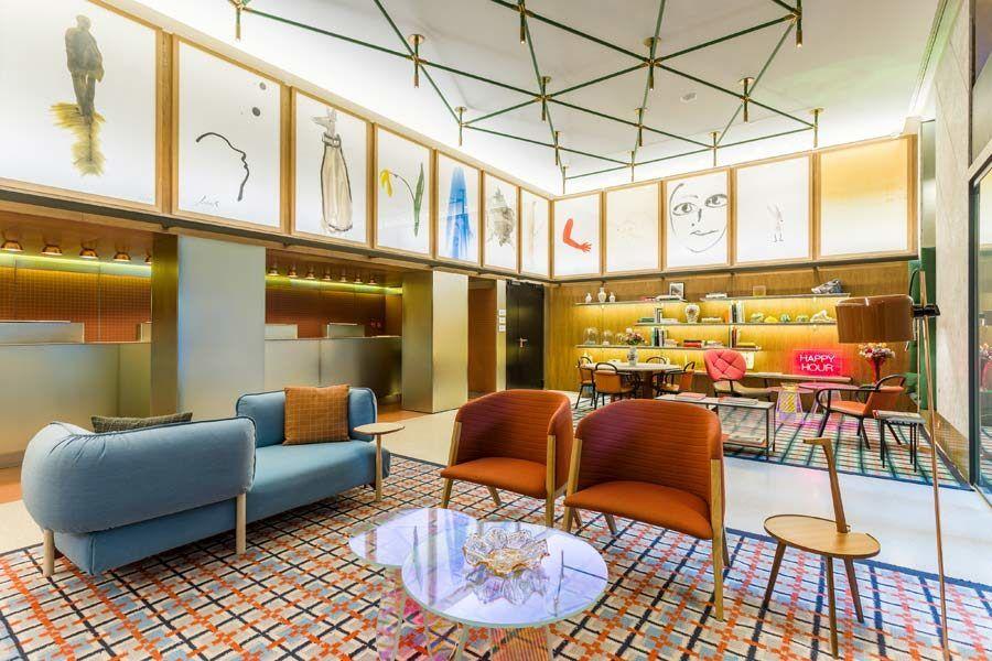 Hotel Room Mate Giulia, hotel viaje con amigas