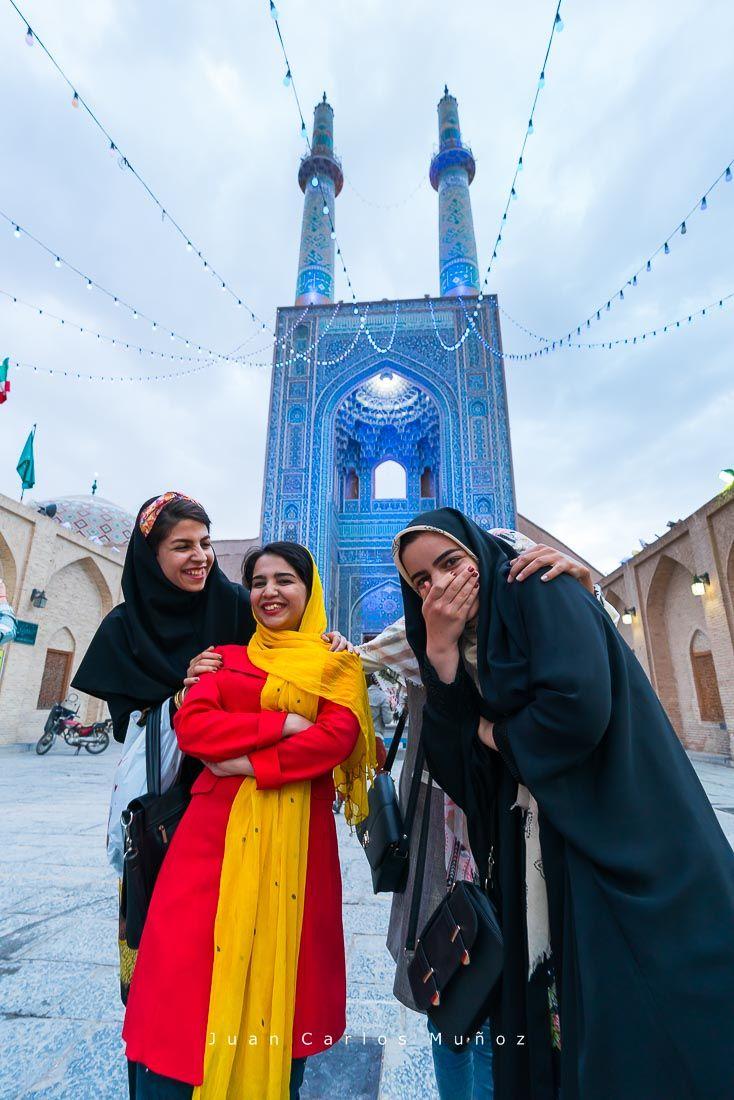 Mezquita de Jame, viaje mujeres iran