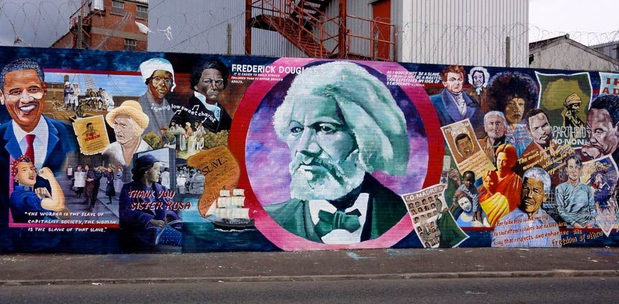 Mural de Frederick Douglass