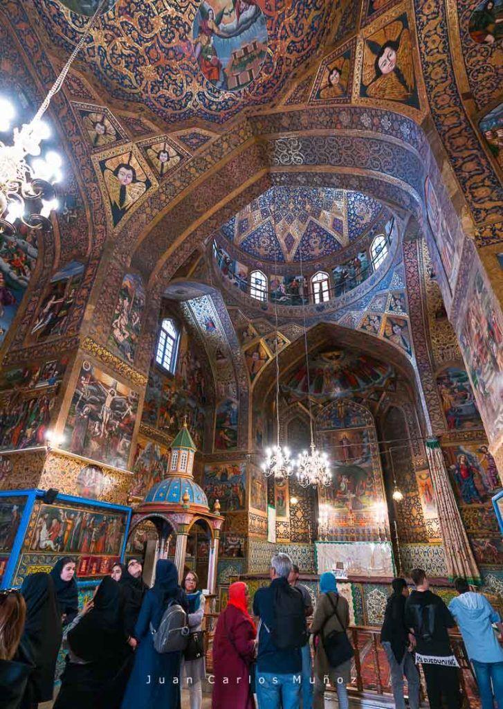 viaje a iran, que ver iran, catedral isfahan