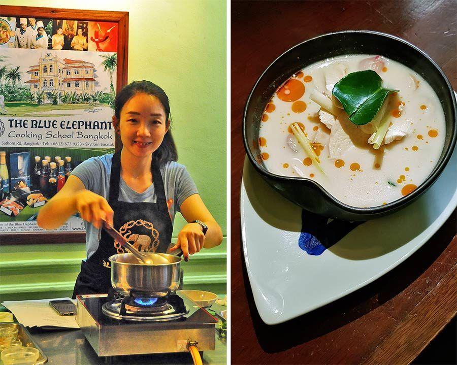 blue elephant, curso de cocina bangkok
