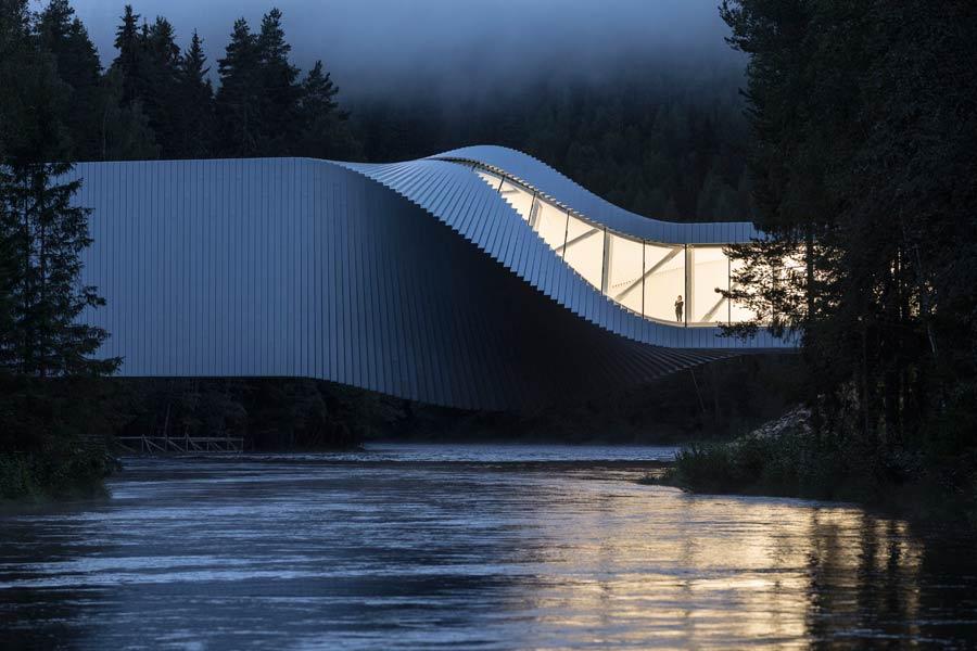 the twist, museo kistefos, museos de noruega, arquitectura de noruega