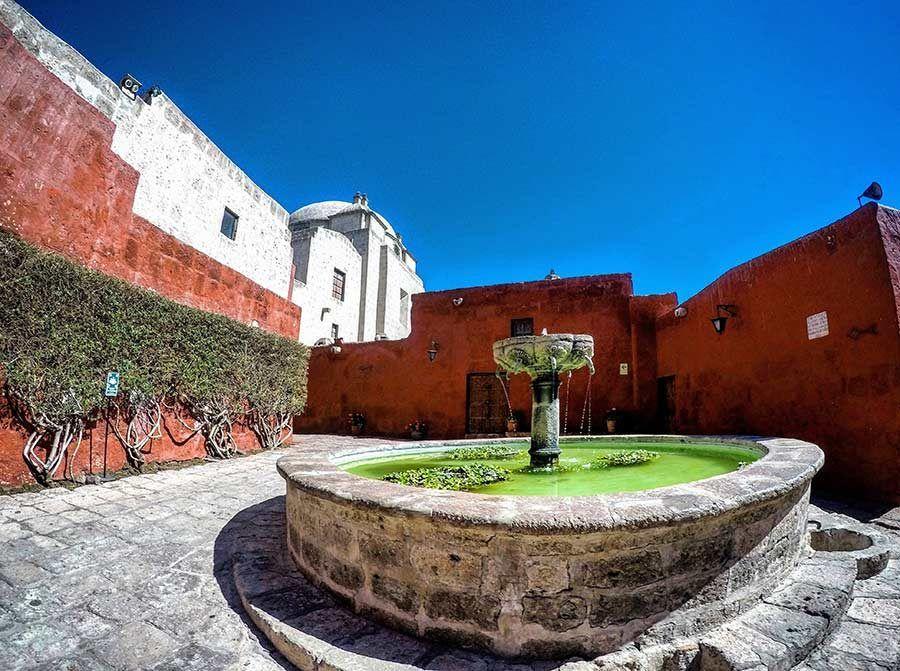 Monasterio de Santa Catalina, viaje peru