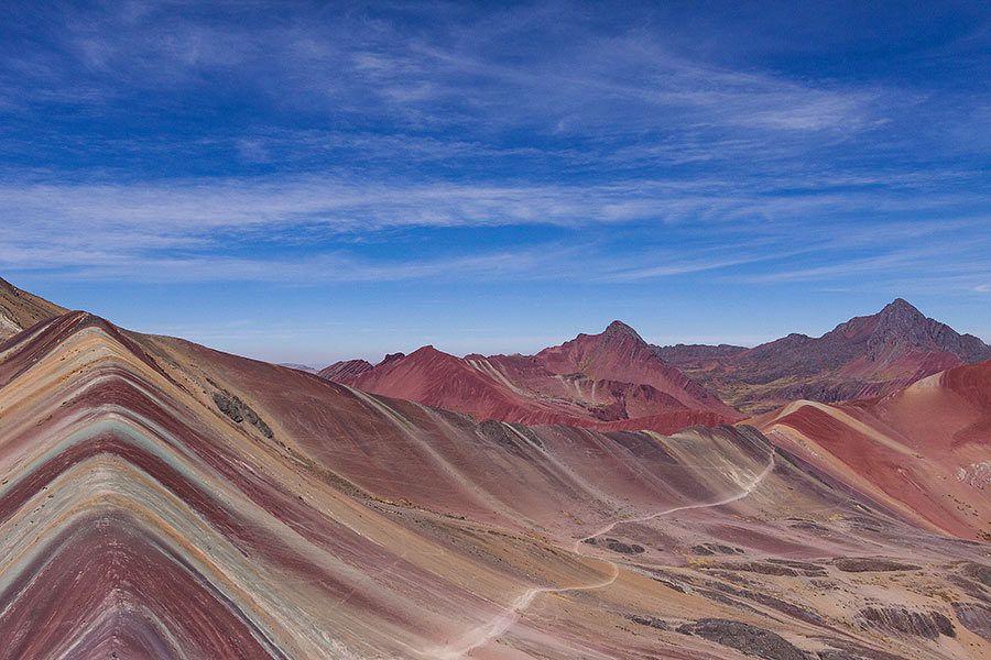 vinicunca, montana arcoiris, viaje peru
