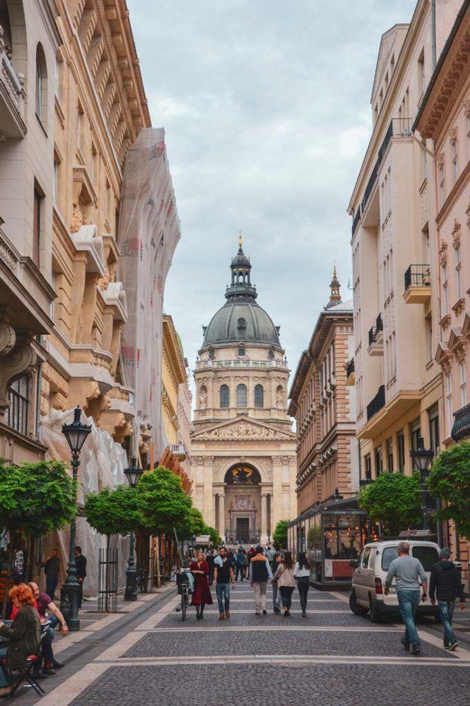catedral de san esteban, viajes a budapest