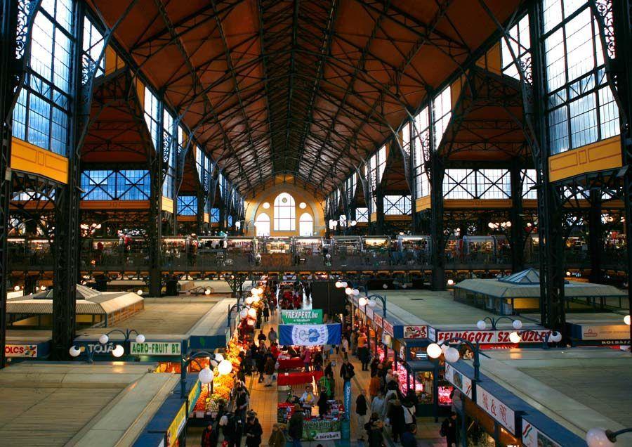 mercado de budapest, que ver en budapest