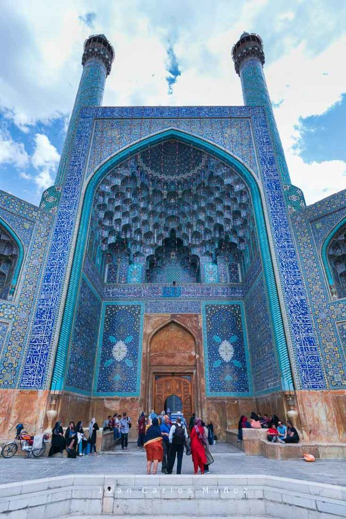viaje iran, Shah Mosqu, monumentos unesco iran