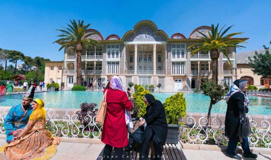 viaje iran, jardines eram, shiraz
