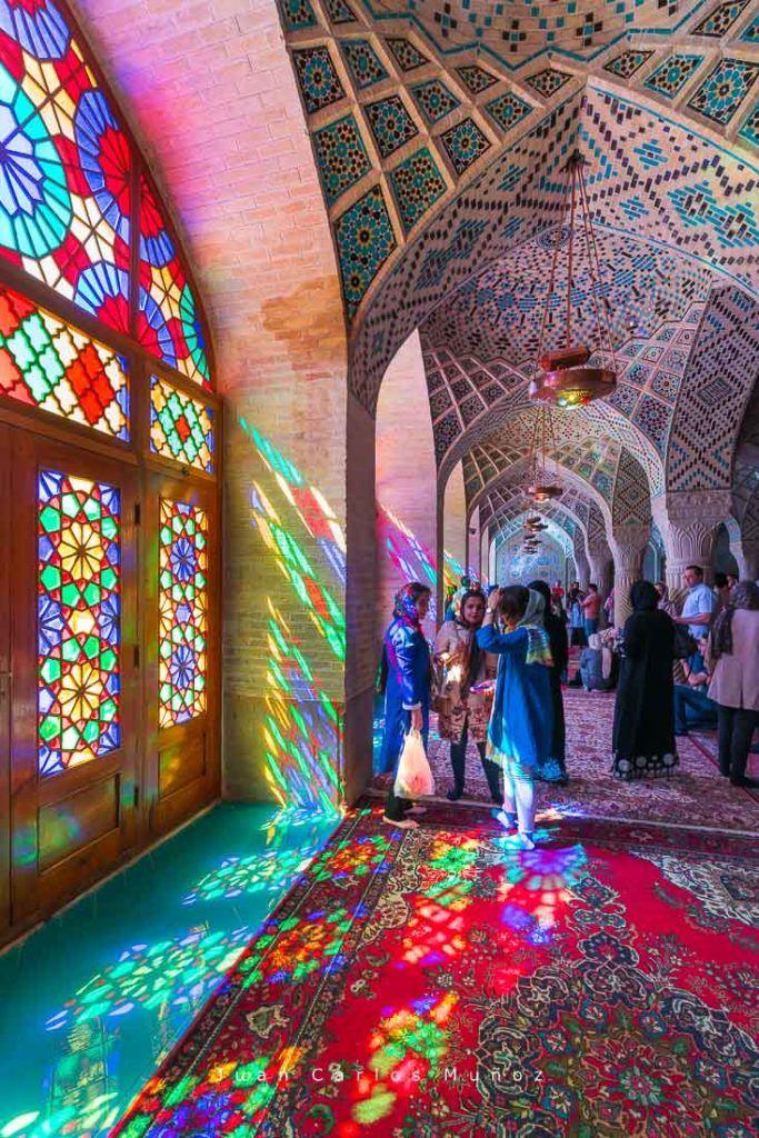 mezquita nasir al mulk, que ver en iran