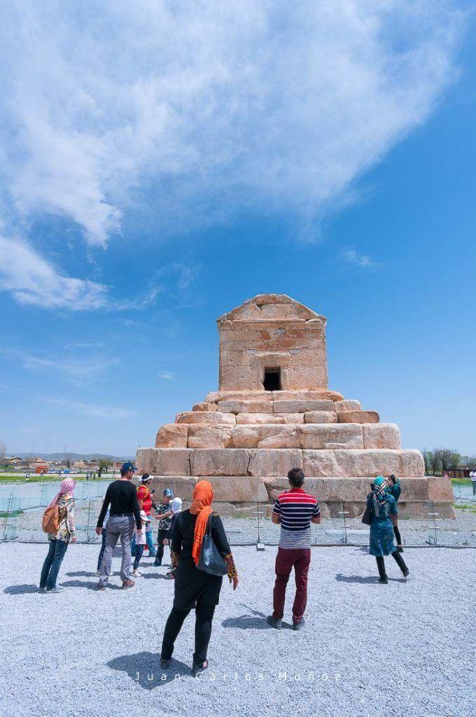 Tumba de Cyrus el Grande, Pasargadae, monumentos unesco iran