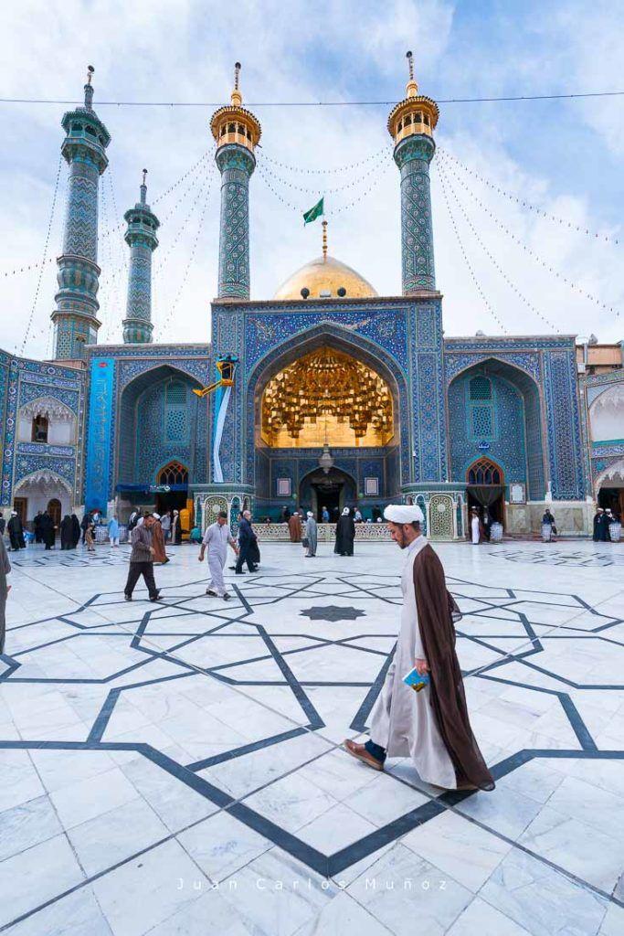 Fatima Masumeh shrine, viaje a iran, Qom