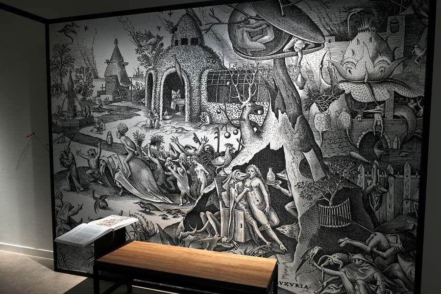 grabados brueghel, exposiciones belgica