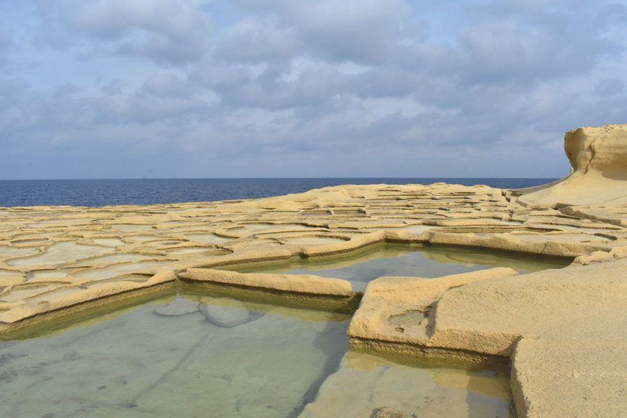 salinas de la isla de gozo