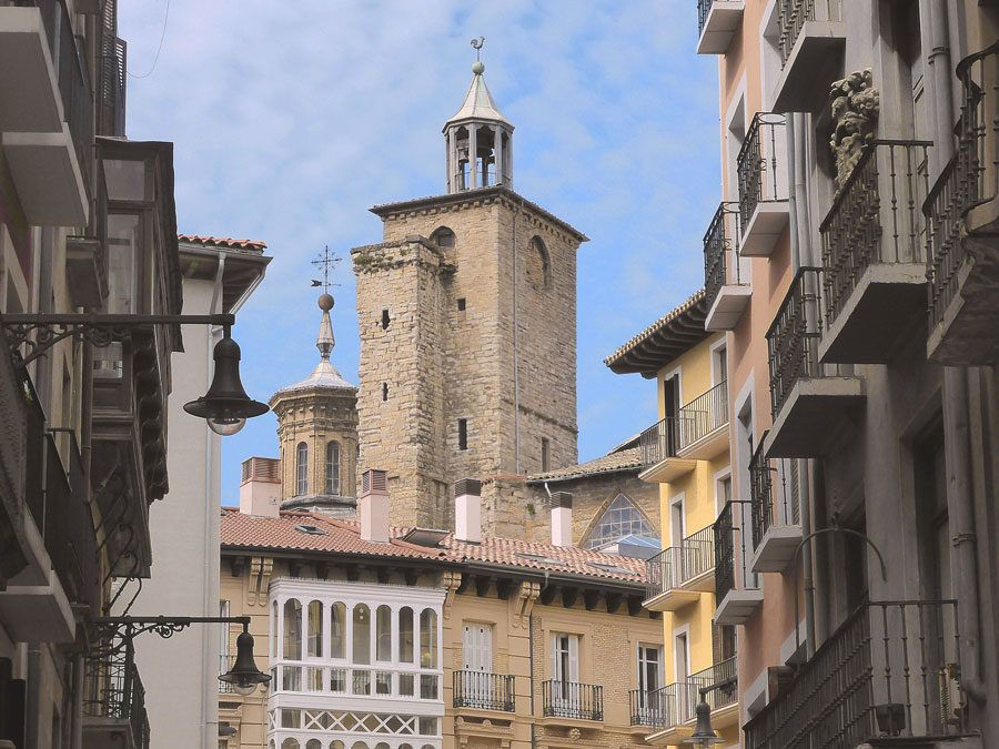 iglesia de san saturnino en Pamplona