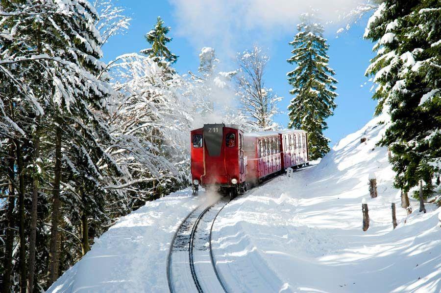 Tren del Adviento en Salzburgo