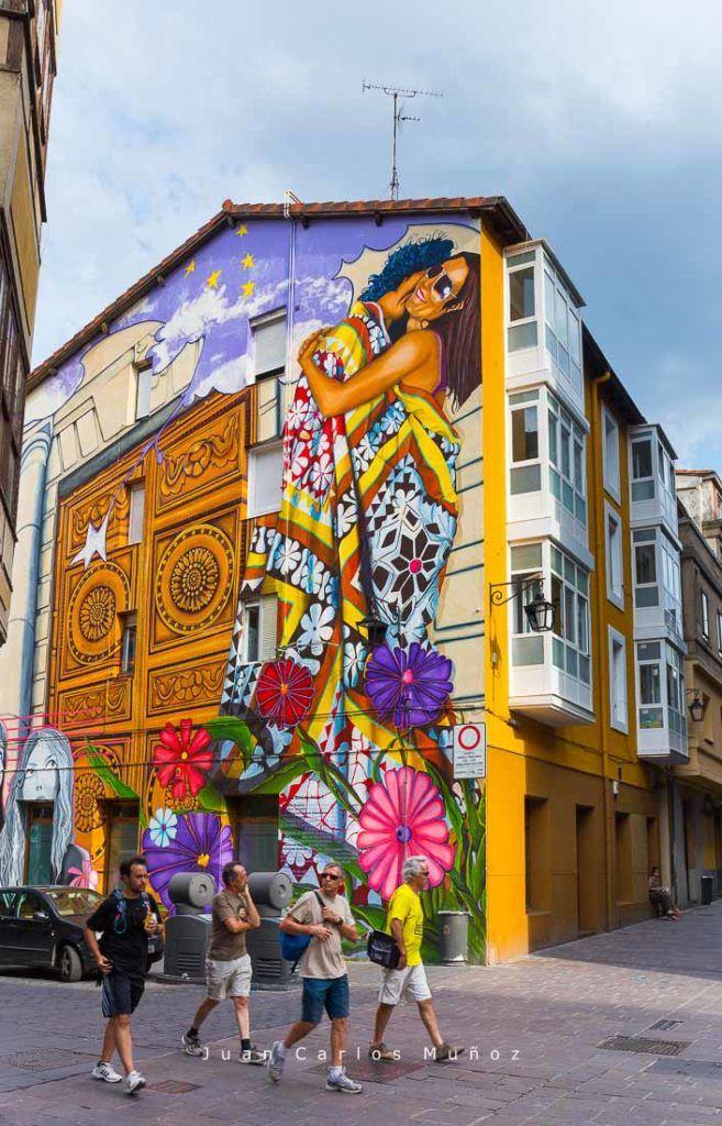 ruta murales en vitoria