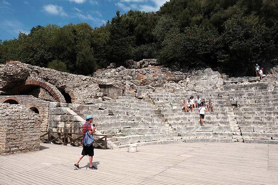 teatro butrinto, albania