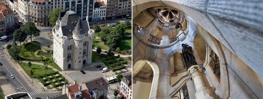 fortaleza la porte de hal, viajes de arte bruselas