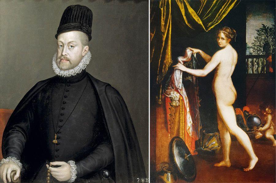 Retrato de Felipe II, Sofonisba Anguissola