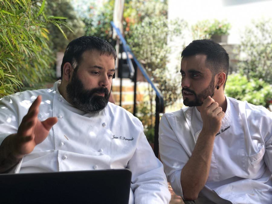 Juan Carlos Ferrando y Markel Ramiro, hotel magalean