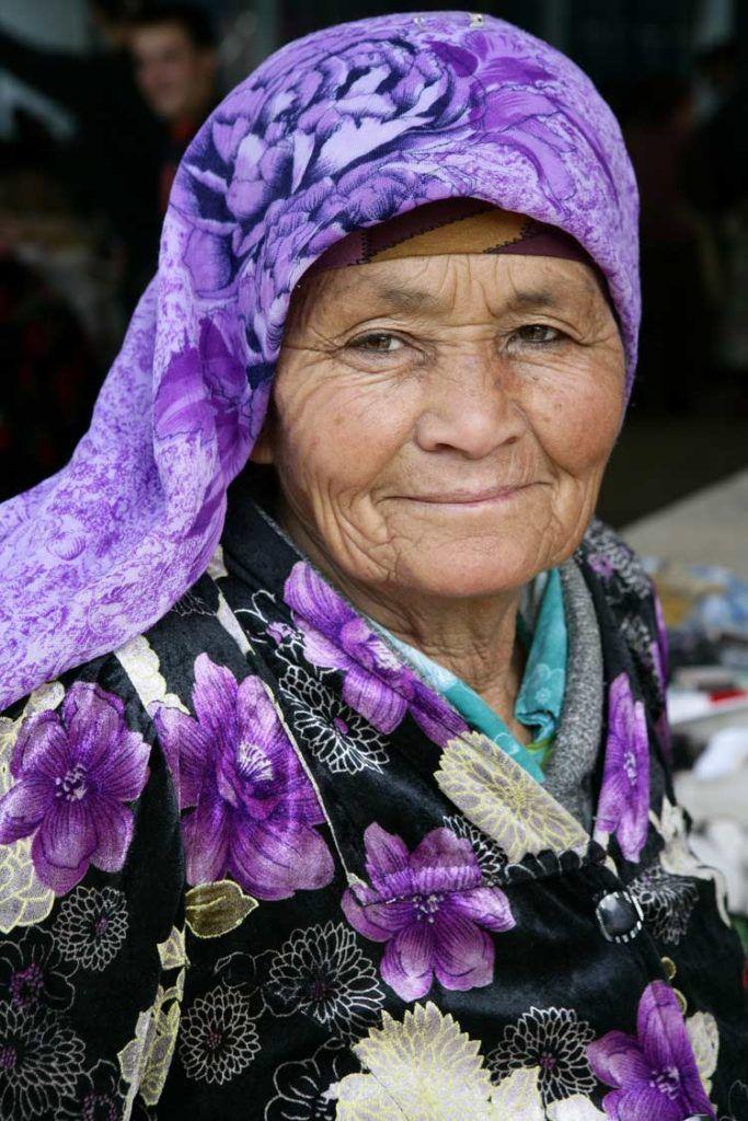 Anciana de Shakhrisabz