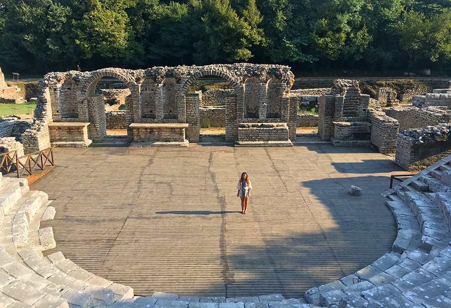 ruinas butrinto, viaje albania