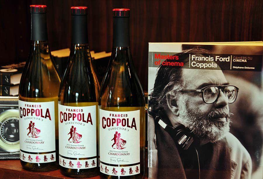Francis Ford Coppola Winery, vinos california
