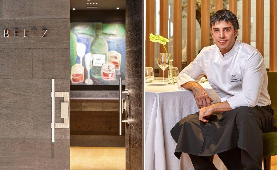 abel corral, restaurante beltz, gran hotel domine