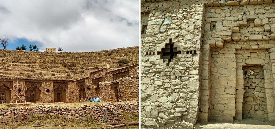 excursion lago titicaca, isla del sol, palacio pilkokaina