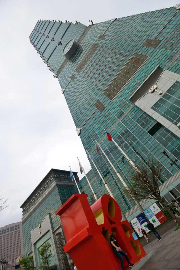 taipei 101, edificio mas alto de taiwan