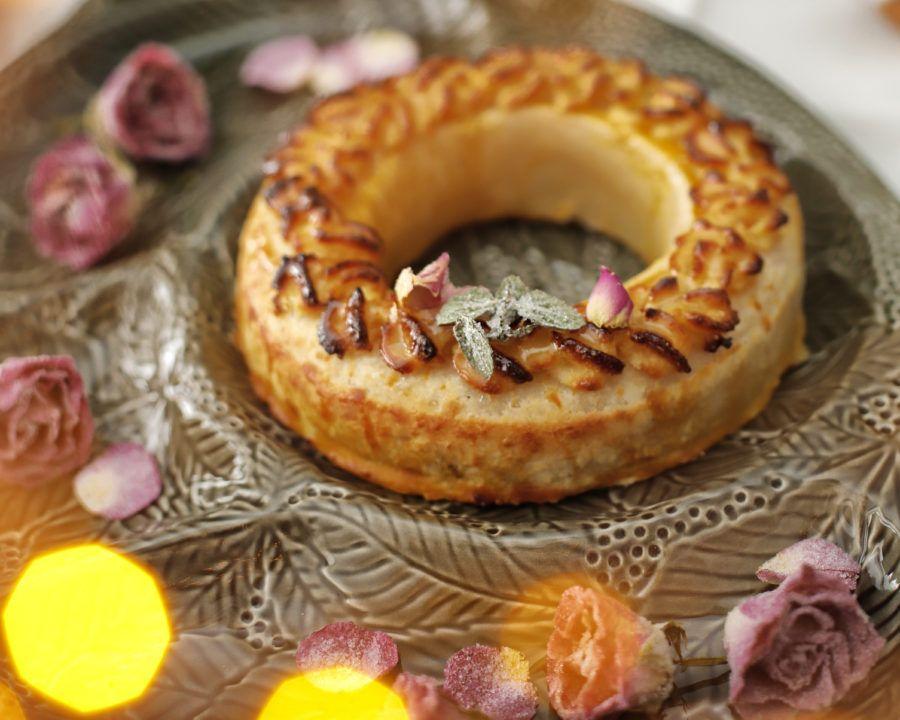 corona catalina de aragon, pasteleria ascaso