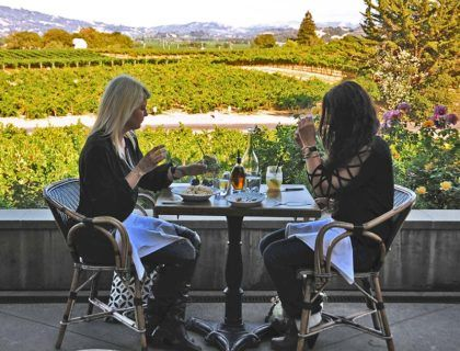 enoturismo en california, bodega de francis ford coppola