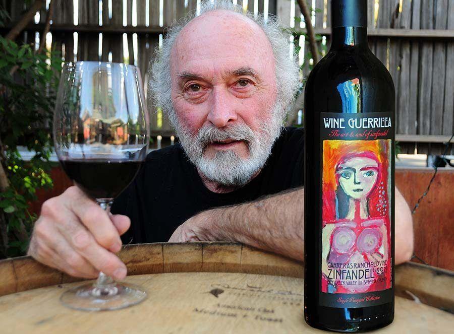 Bruce Patch, wine guerrilla, vinos california
