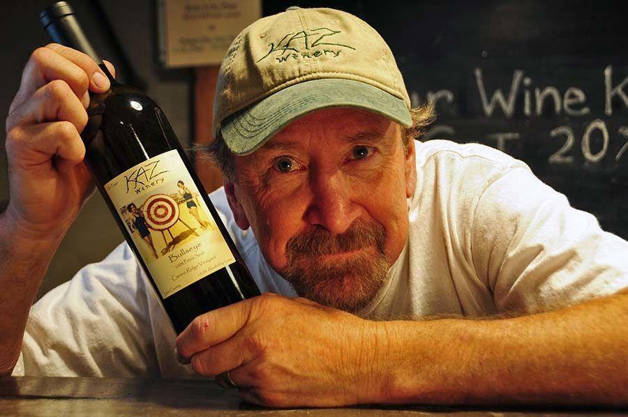 Richard Kasmier, KAZ Winery
