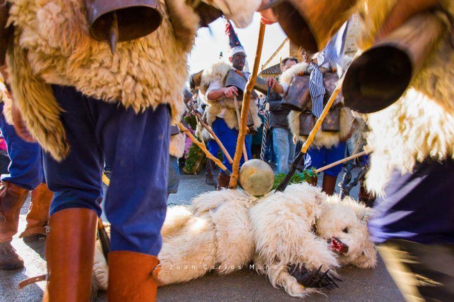 la vijanera, carnaval cantabria