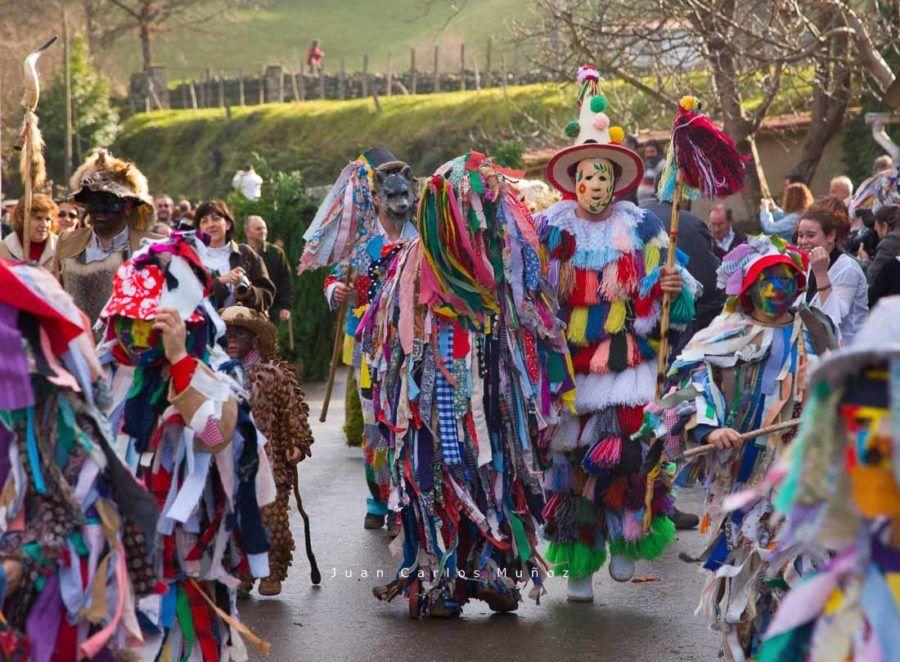 personajes de la vijanera, carnaval espana